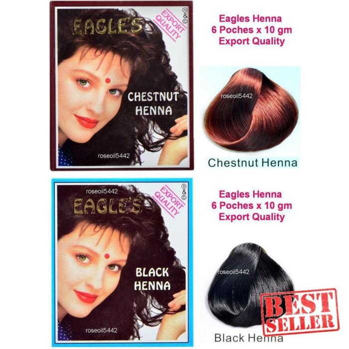 Jual Henna Rambut Hitam Cat Rambut Herbal Semir Rambut Eagle S
