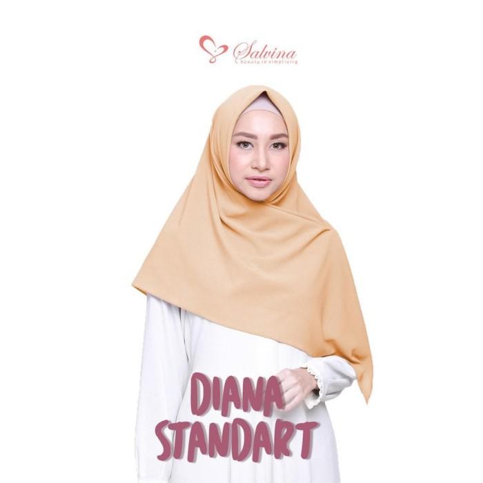 Segi Empat Jilbab Hijab Syari Diamond Crepe 120 x 120 cm Diana Square