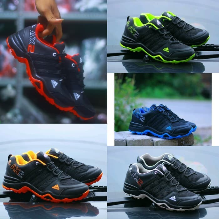 Jual Sepatu Adidas Ax2 Goretex Jogging Running Lari Sport Sneaker