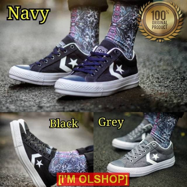 361c5c8a5d12 Jual OLSHOP Sepatu Converse One Star Play Size 38-43 Import Quality ...