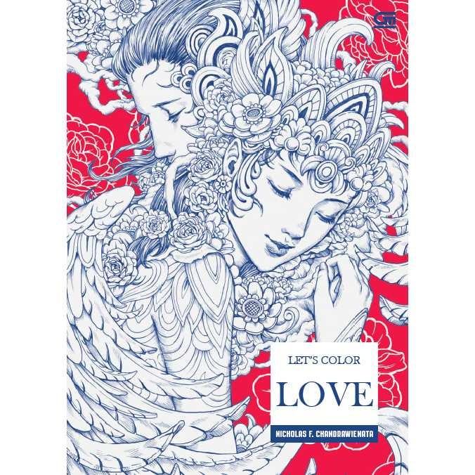 Jual Art Therapy Let S Color Love Buku Mewarnai Berkualitas Gramedia Jakarta Barat Penilanggeng Tokopedia