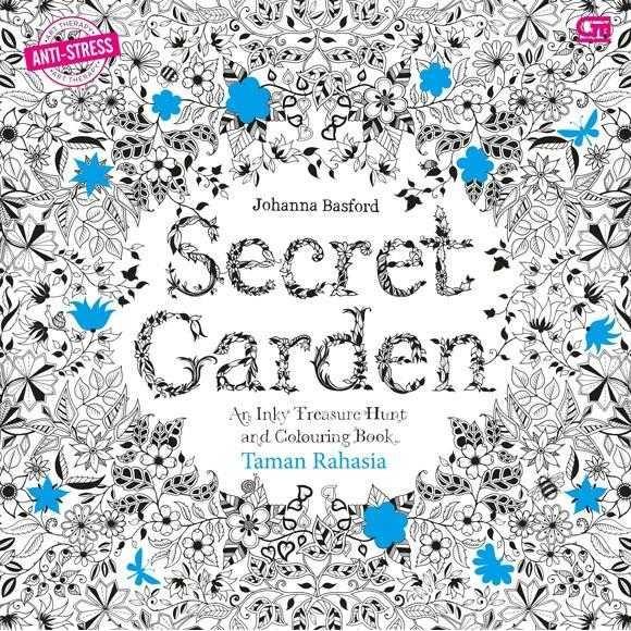 Jual Art Therapy Taman Rahasia Secret Garden Buku Mewarnai Gramedia Jakarta Barat Penilanggeng Tokopedia