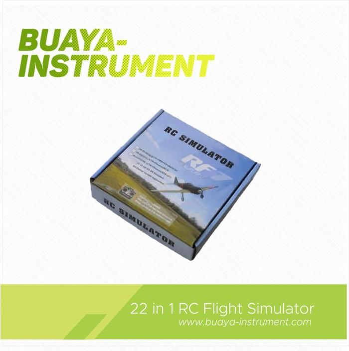 harga 22 in 1 rc flight simulator usb realflight g7 - g5 phoenix pesawat Tokopedia.com