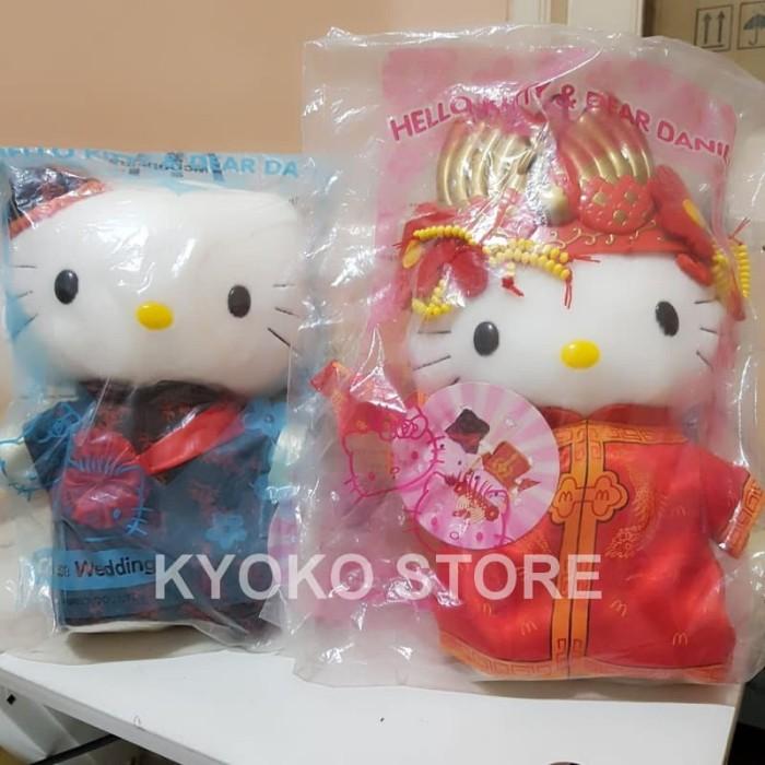 harga Boneka hello kitty chinese wedding couple mcdonald Tokopedia.com