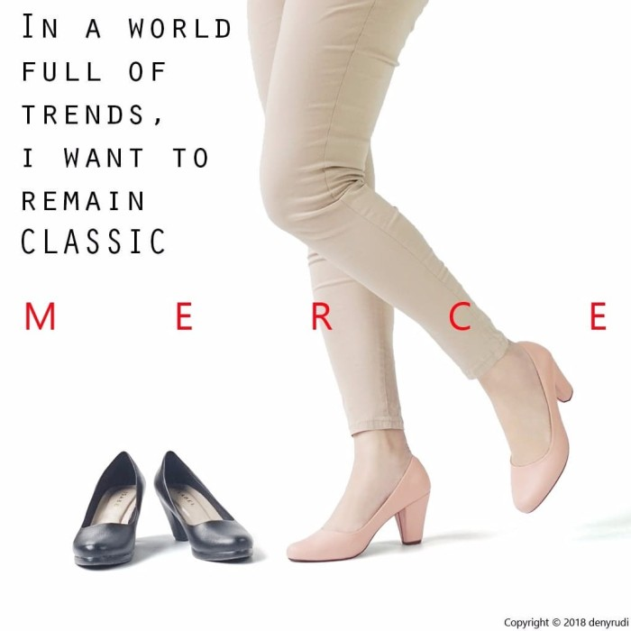harga Merce scarlet sepatu pantofel kerja wanita pump heels hitam peach  Tokopedia.com 28f9b33dcd