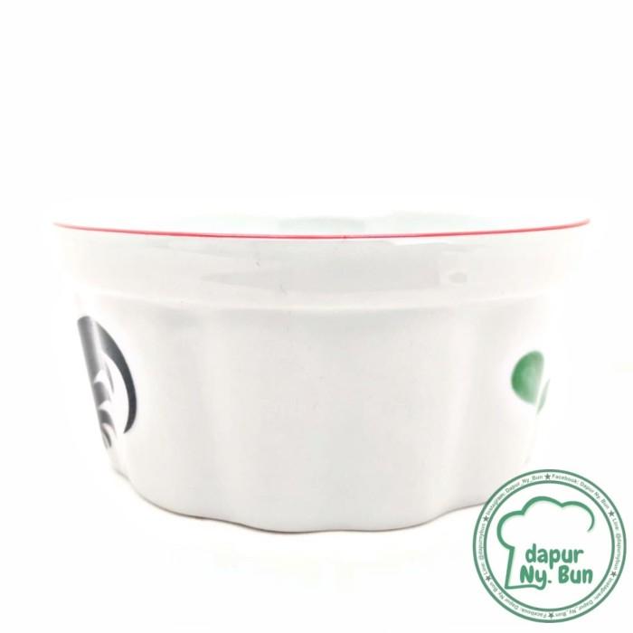 Mangkok Ramekin Ayam Jago Seri 2 / Ukuran 10,5cm / Mangkok Cup Cake