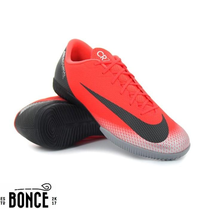 Jual Sepatu Futsal Nike Vapor 12 Academy CR7 IC Bright Crimson ... 7389f5dc85