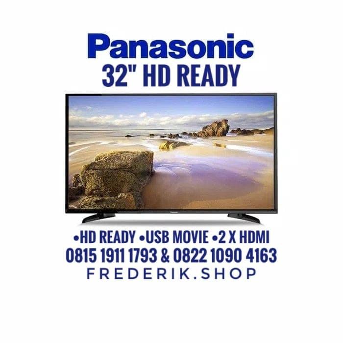 Free Bracket - Led TV Panasonic 32 Inch TH-32F302G - USB movie 32F302