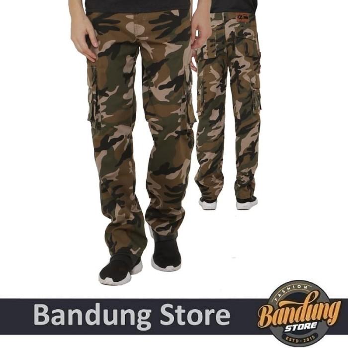 harga Celana panjang pria / celana pdl / celana cargo loreng isc 177 Tokopedia.com