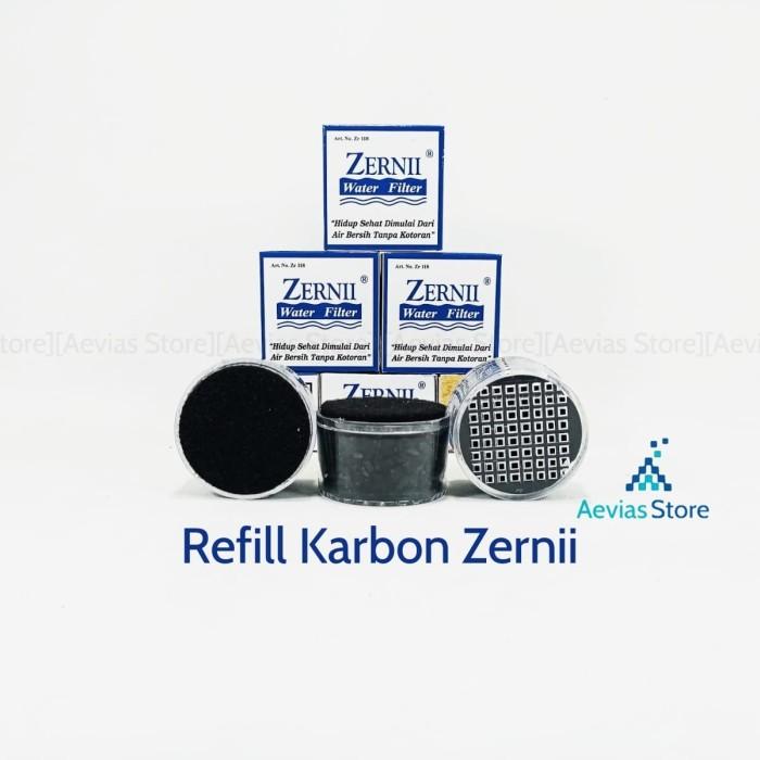 Refill Karbon Filter Air Zerni, Zernii / Saringan Air Kran/Keran.