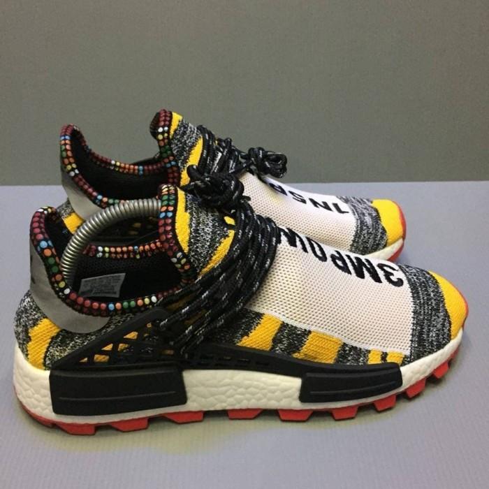 43e0ff1b4 Jual Sepatu Pria Adidas NMD Human Race Solar Hu Yellow Premium Promo ...