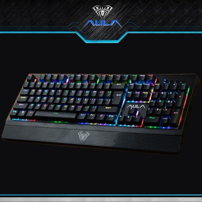 3c6e213c8c6 Jual AULA WING OF LIBERTY RGB BACKLIT BLUE SWITCH KEYBOARD GAMING SI ...