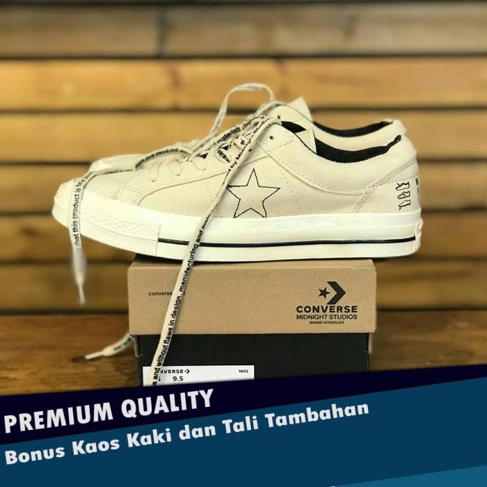 Jual Sepatu Converse One Star Midnigth Studios Off White Premium BINB Kota Bandung LAPIK | Tokopedia