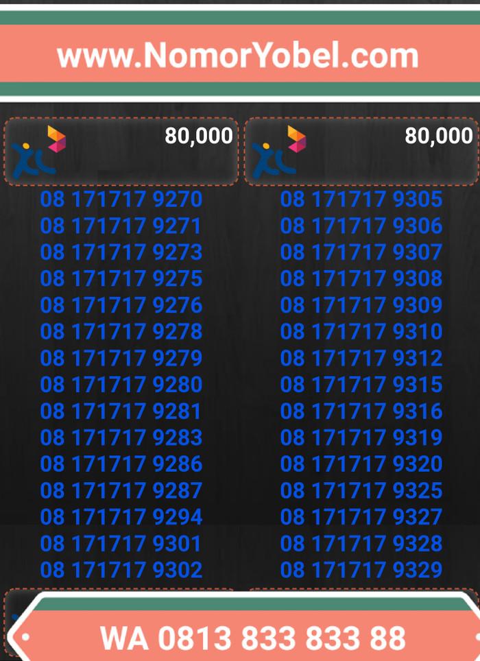... Nomor cantik kartuperdana xl bebas axiata TP80