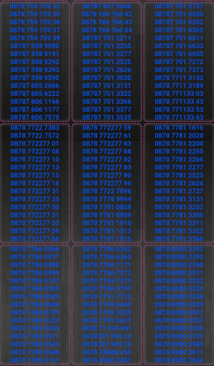 Nomor cantik kartuperdana xl bebas axiata TP80