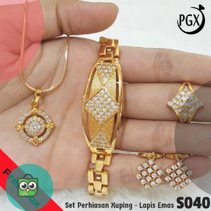 Model Perhiasan Emas Satu Set Terbaru 2018 - Seputar Model