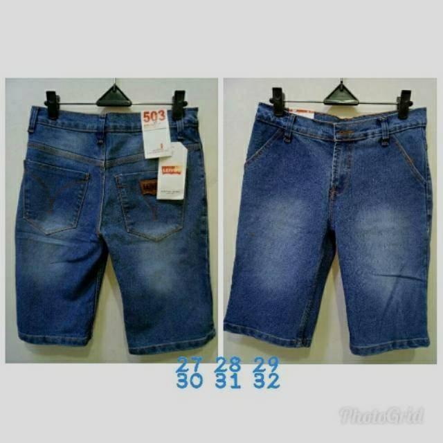 harga Original celana jeans pendek pria levis / celana jeans pria lois / Tokopedia.com