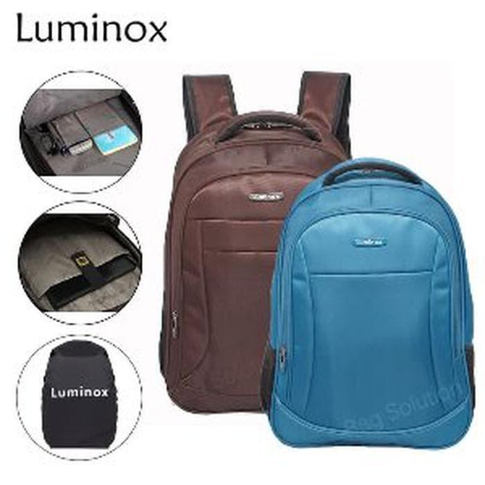 Real Polo Tas Ransel Laptop Tahan Air 8316 Backpack Up to 15 inch Bonus Bag Cover