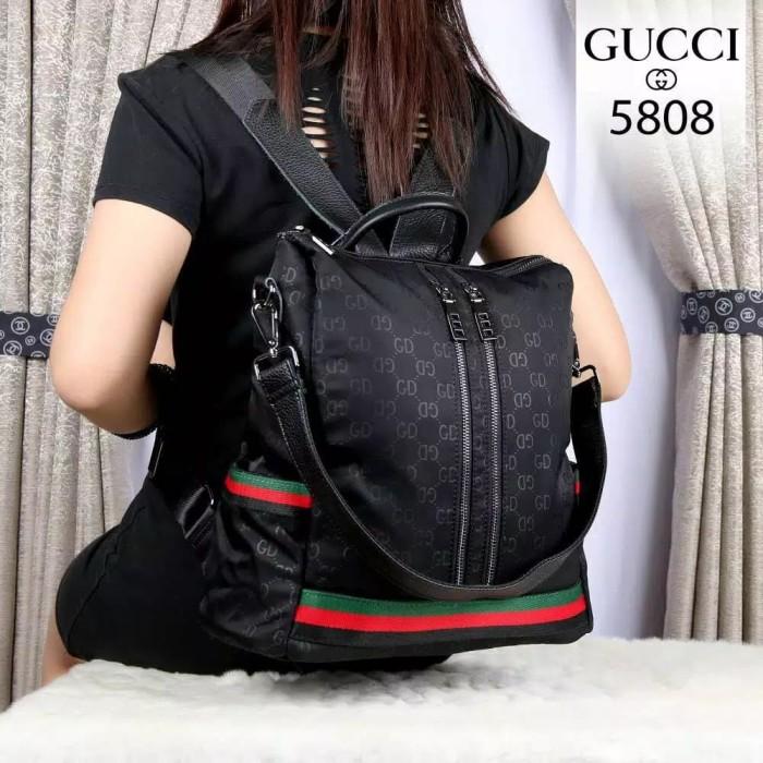 Jual Tas Ransel import / Backpack Wanita Branded Gucci ...