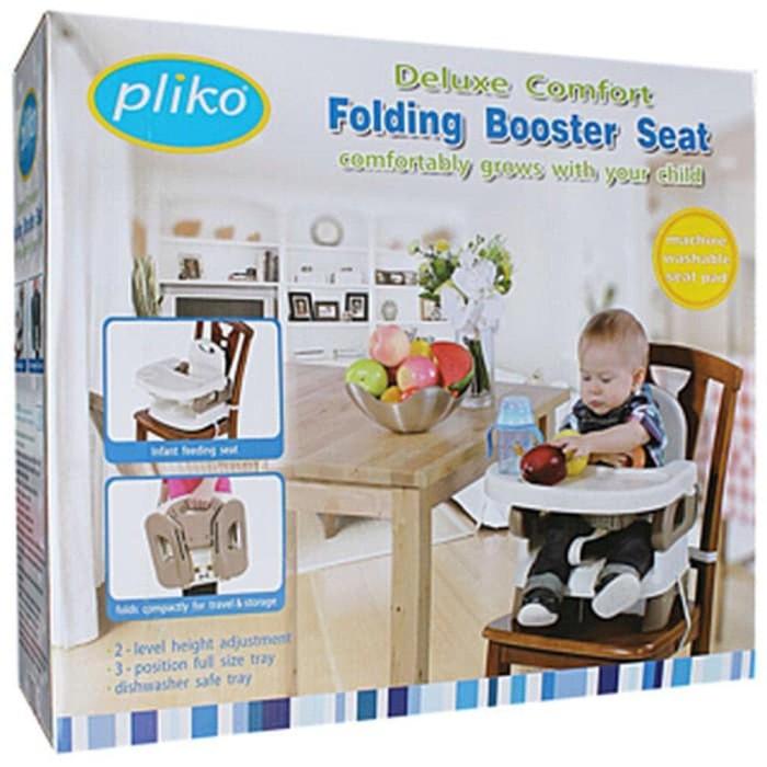 Terbaik Pliko Deluxe Comfort Folding Booster Seat