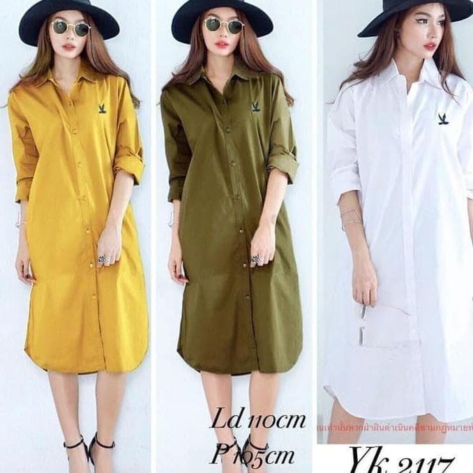 Jual Diskon Playboy Tunik Baju Kerja Atasan Wanita Muslim Casual Modern Kota Bandung Azmi Hijab Collection Tokopedia