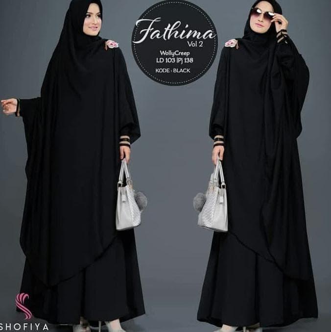 Jual Terlaris !!!! Fathima Syari Vol 2 Dress Wolfice Baju Wanita ... 3056ffcffb