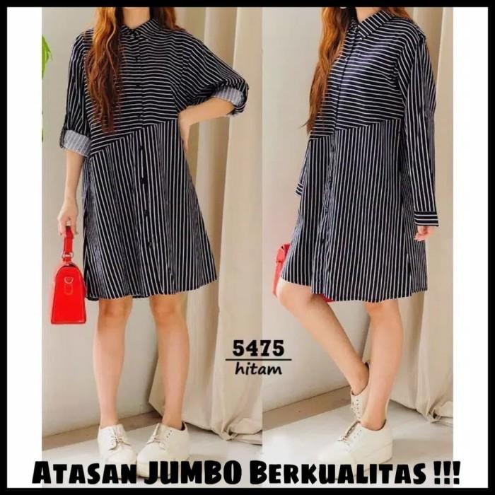 harga Baju atasan wanita big size tunik jumbo kemeja jumbo longline dress Tokopedia.com