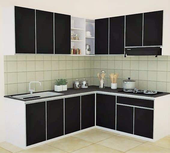Jual Kitchen Set Aluminium Custom Jakarta Selatan Dapur