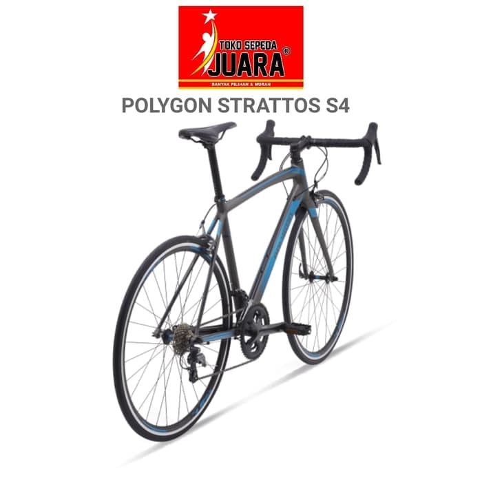 16513c01c72 Jual READY SEPEDA POLYGON STRATTOS S4 ROADBIKE 700C ALLOY SHIMANO ...