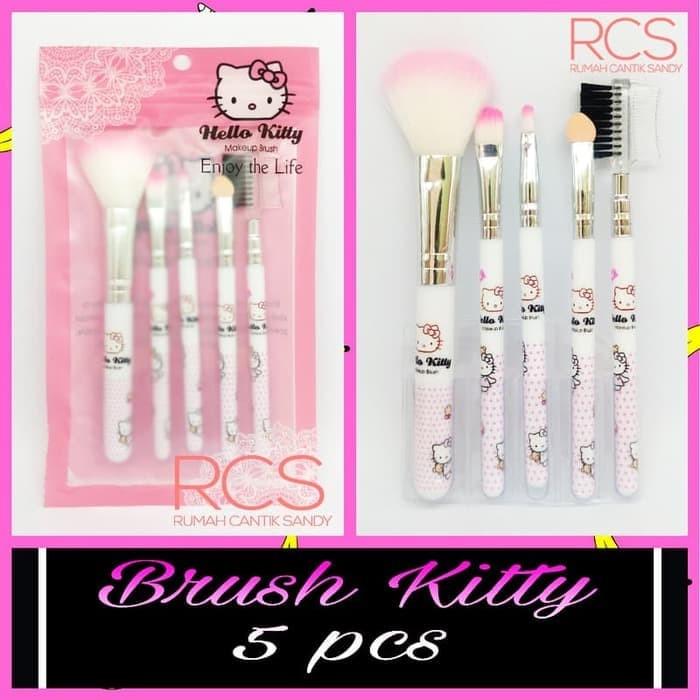 c4827e56e Jual Kitty Brush 5 in 1 ~ Kuas Hello Kitty isi 5 ~ KEMASAN PLASTIK ...