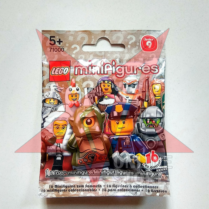 Jual LEGO minifigures Series 9 HEROIC KNIGHT  Mint In Sealed Plastic / MISP  - Kota Bekasi - XYZ ONLINE STORE   Tokopedia