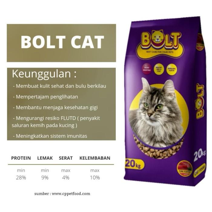 Jual Makanan Kucing Bolt Tuna 1kg Repack Ikan Kota Denpasar