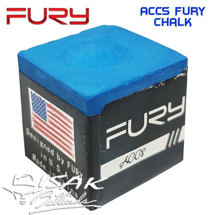 Foto Produk Fury Chalk - ACCS Billiard Chalks Kapur Eceran Biliar Bilyard Asli Ori dari ISAK Billiard Sport Co.