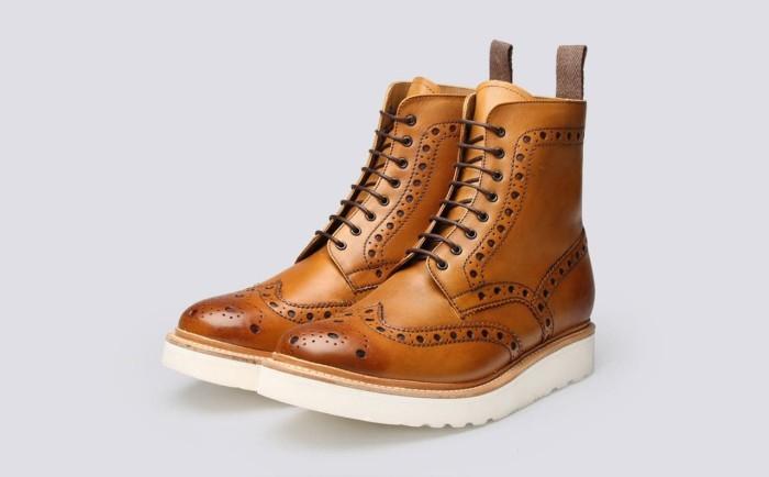 harga Sepatu kulit custom | sepatu kulit pria | boots wingtip Tokopedia.com