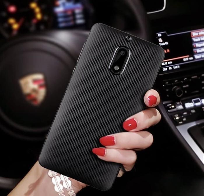 wholesale dealer 9635a ee819 Jual Case Nokia 6.1 Plus Softcase Nokia X6 2018 Slim Premium Carbon Casing  - Hitam - DKI Jakarta - tokomuda | Tokopedia