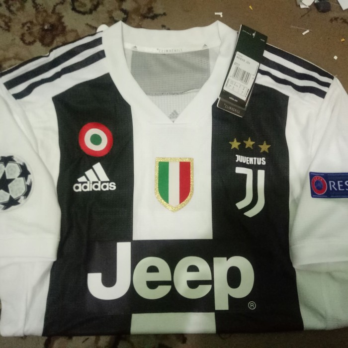 uk availability d0467 d7c60 Jual Jersey Juventus Home Adizero Climachill Fullpatch UCL 2018/2019 GO - ,  - Kota Bekasi - gradeorijersey77 | Tokopedia