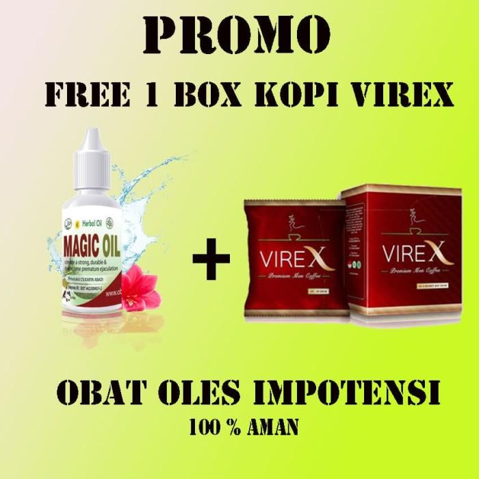 Herbal Magic Oil Obat Oles Alat Vital Pria Agar Keras Kencang Lama .