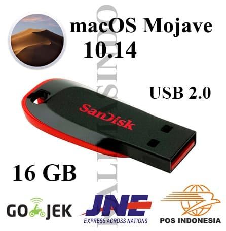 harga Usb flashdisk 2.0 16gb installer macos mojave 10.14 for mac Tokopedia.com