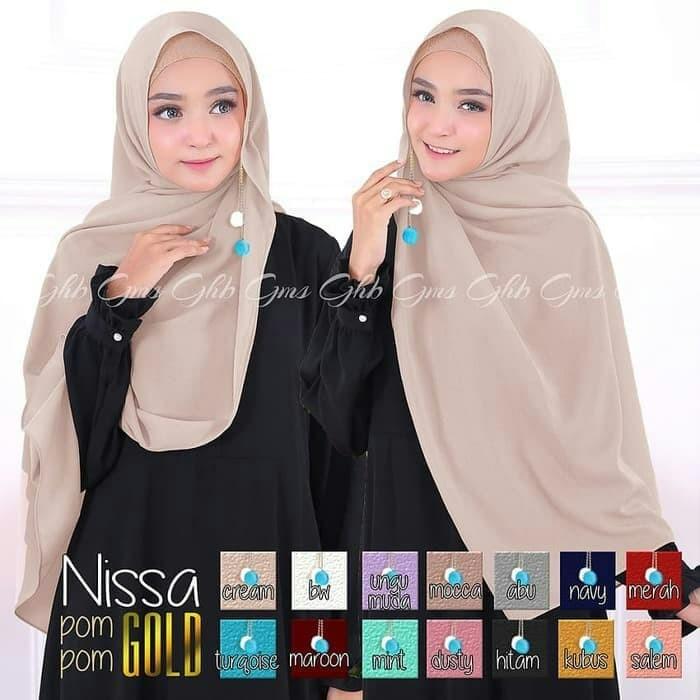 Model Jilbab Pashmina Nissa Sabyan Hijabfest