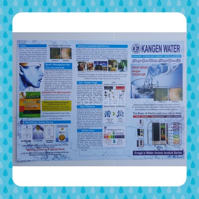 Contoh Brosur Kangen Water Pigura