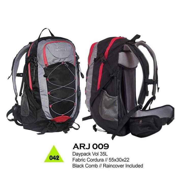 Tas Ransel Daypack / Gunung outdoor 35liter backsytem alumunium frame