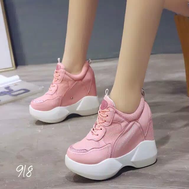 harga Sepatu wedges korea 918 Tokopedia.com