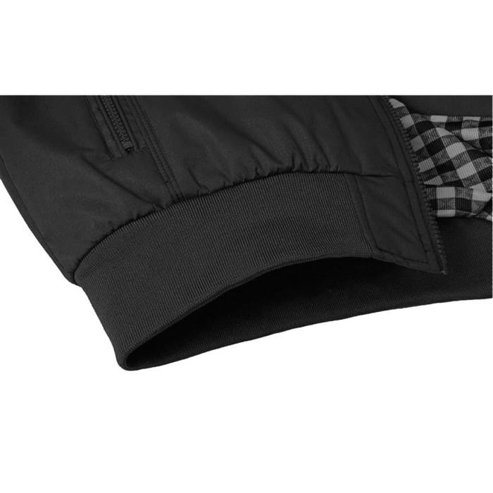 Jaket Virendra Hitam Bahan Waterproof Anti Air Tersedia 5 Warna Piliha