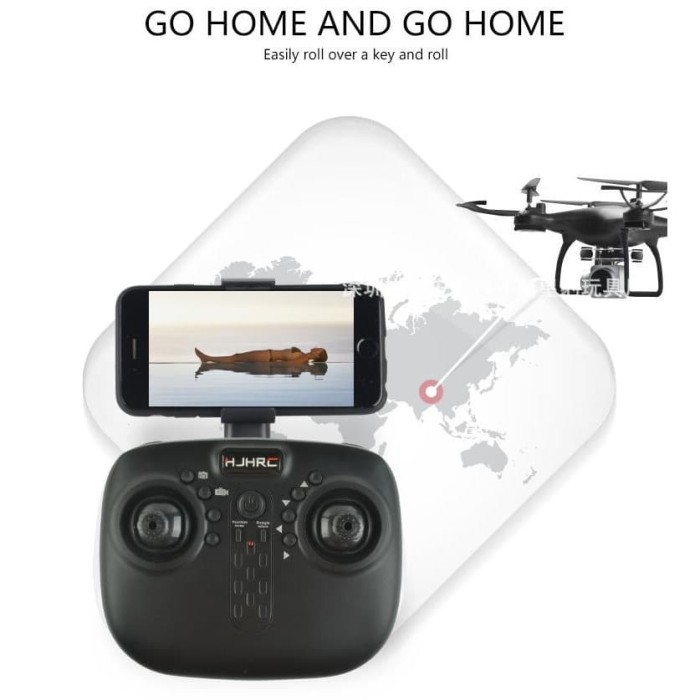 Jual drone HJ14 HJRC DENGAN CAMERA WIFI KEMASAN SEROFOOM - Kota Tangerang -  yani bf | Tokopedia