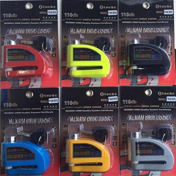 PROMO SPESIAL Gembok Alarm Cakram Disc Lock Kunci Alarm Gembok Motor