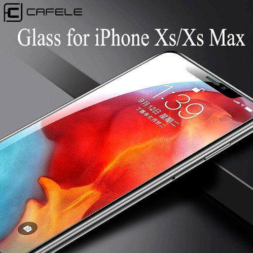 harga Cafele iphone xs / xs max - tempered glass hd 2.5d - clear / anti blue Tokopedia.com