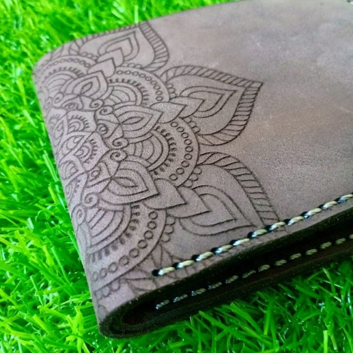 harga Dompet pria motif batik tengah kulit asli handmade Tokopedia.com