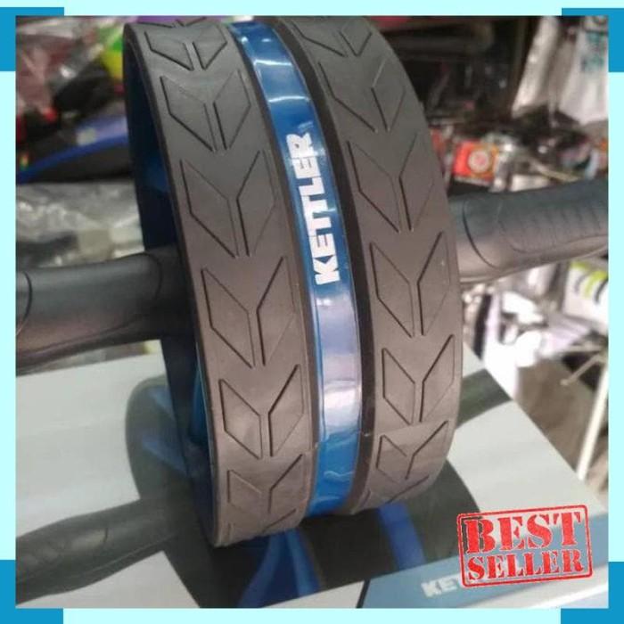Foto Produk Double wheel KETTLER premium /PUSH UP ROLLER /push up roda dari july46OLshop