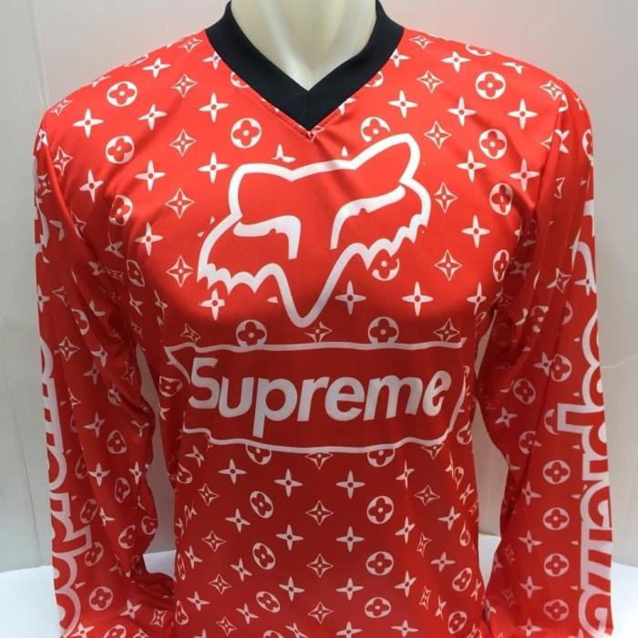 harga Kaos jersey sepeda -kaos baju motor cross dwonhil fox supreme 866 Tokopedia.com