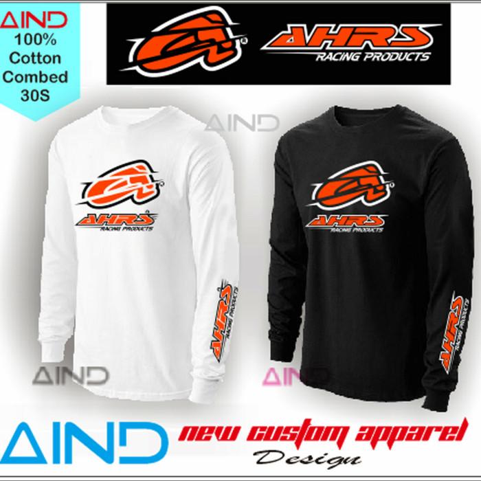 Kaos AHRS Racing T Shirt Balap Lengan Panjang - Longsleeve 5514cea494